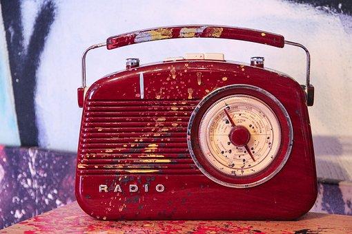 Radio, Portable Radio, Transistor Radion