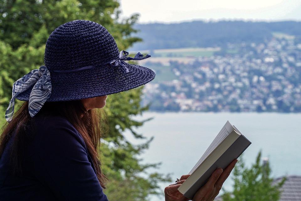 Donna, Lettura, Sedere, Persona, Letteratura, Libro