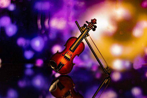 Violin, Bokeh, Classic, Entertainment