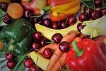 czereśnie, żywności, owoców pestkowych