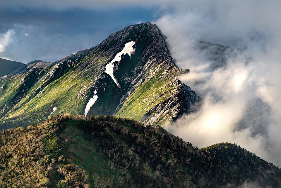 Landscape, Mountain, Nature