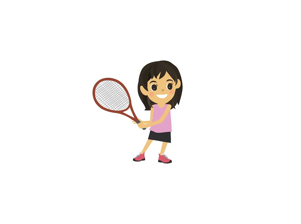 Tennis - Jeune fille - Sport - Raquette - SchoolMouv - Sciences - CE1