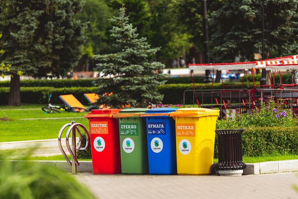 Stehplatz für Mülltonnen - Lokation, Garten, Gartenmöbel, Grün
