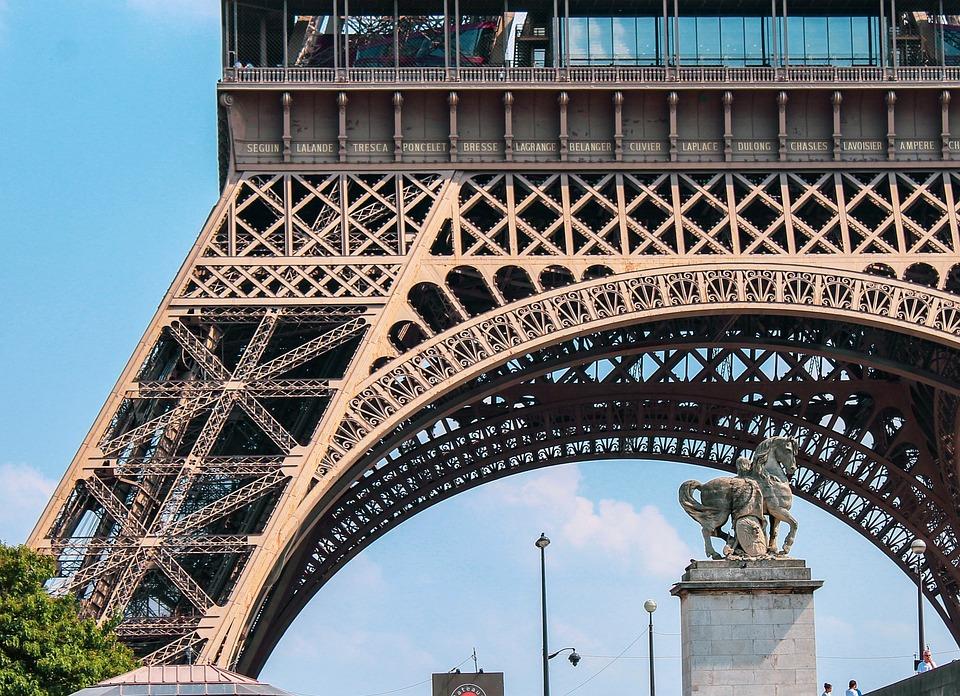 Eiffel Tower Base Free Photo On Pixabay