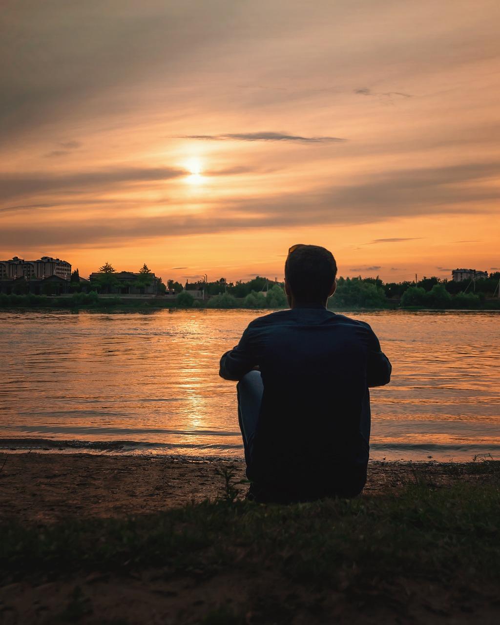 Картинки одинокий человек фото