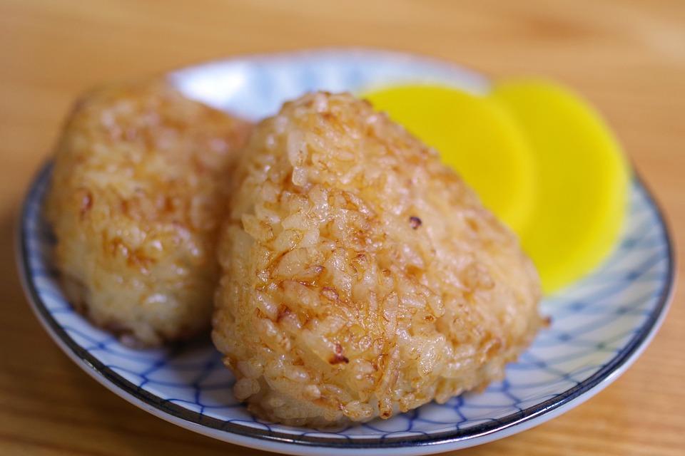 和食, 日本食, 米, 米料理, ご飯, おにぎり, おむすび, 焼きおにぎり, 食事, 食品, おいしい