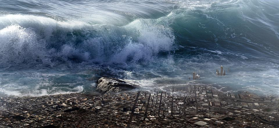 tsunami, Natural Disasters that have hit the world in past years | Voxytalksy