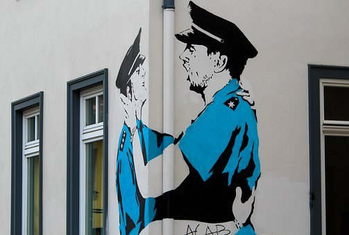 Street Art, Graffiti, Thuringia Germany