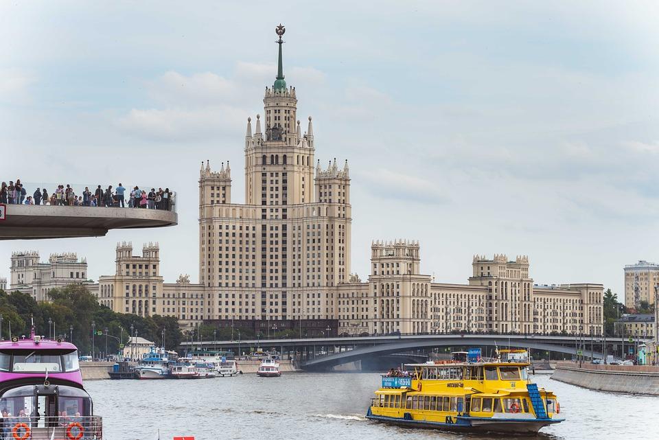 Moskau, Russland, Hohe Aufstieg Gebäude, Stalin