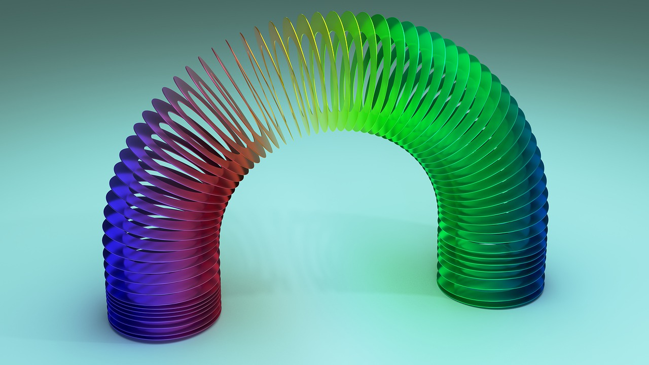 If you stretch a standard Slinky out flat it measures 87 feet long.