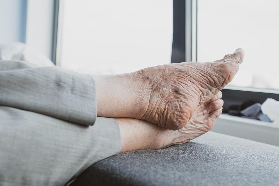 Feet Old Age - Free photo on Pixabay