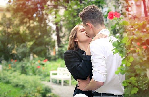 Kiss, Love, Tenderness, Romantic, Couple