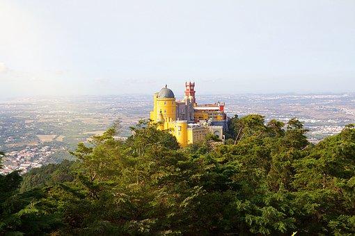 Portugal, Sintra, Castelo, Arquitetura