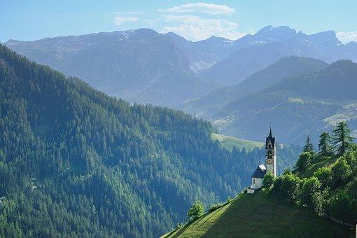 Natur, Landskap, Berg, Fjällvärlden