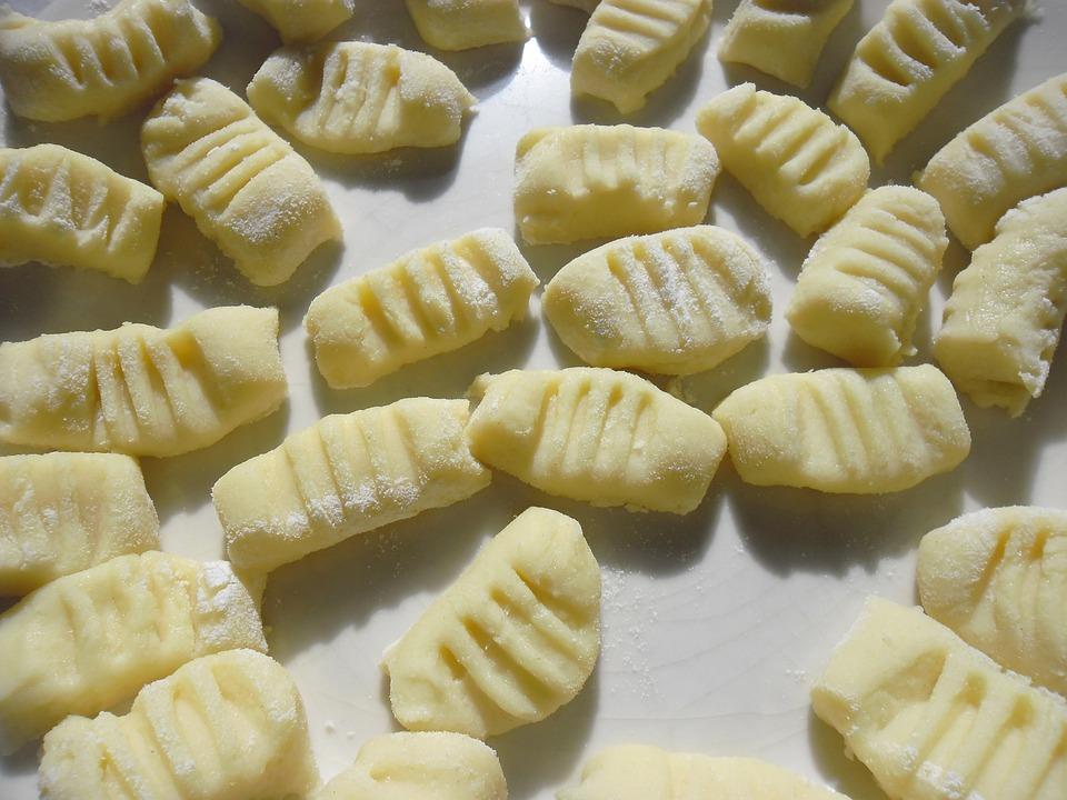 Gnocchi con salsa delicata alle verdure