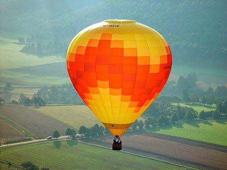 Balloon, Ballooning, Freedom, Sky