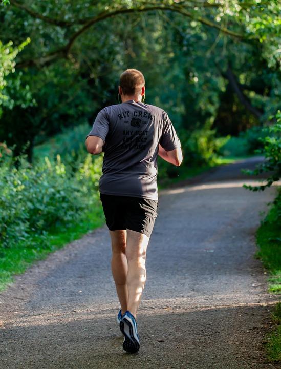 Runner, Jogging, Run In The Park, Man Running