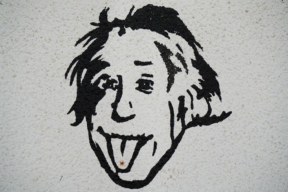 Albert Einstein, Wissenschaft, Malerei, Zeichnung