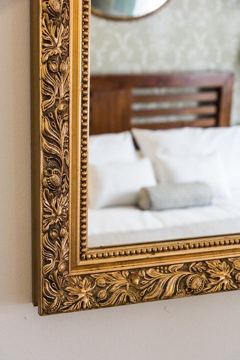 Miroir Cadre Chambre À Coucher - Photo gratuite sur Pixabay