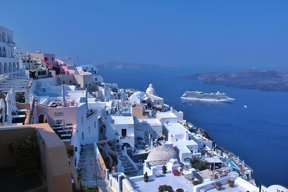 Santorini Island in Greece Greek Islands