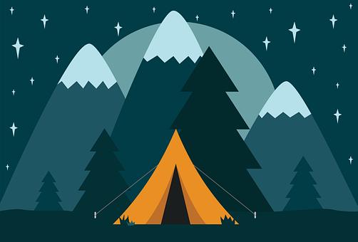 Camp, Camping, Tent, Nature, Adventure