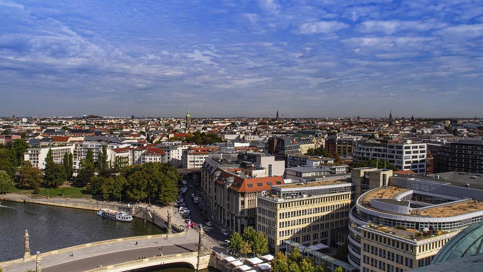 Berlijn, Stad, Duitsland, Toerisme, Landschap, Vakantie