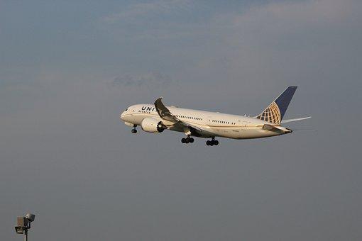 Aeropuerto, 787, Boeing, Unidos