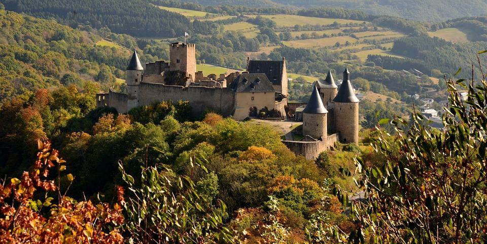 Schloss, Fürstentum, Luxemburg