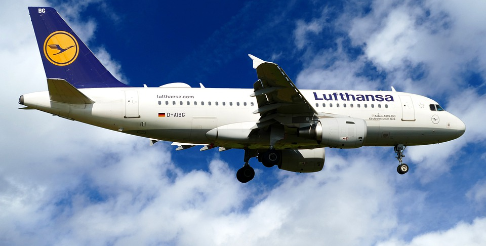 Aircraft, Lufthansa, D-Aibg, Airbus, A319-100, Landing
