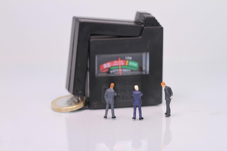 Moneda, Crisis, Figuras En Miniatura, Dinero, Euro
