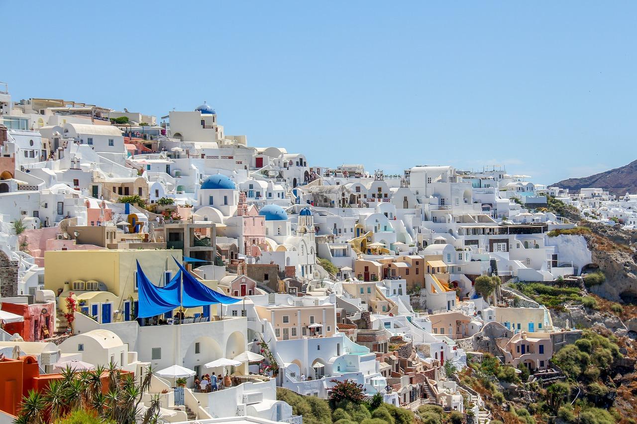 фото деревни ия в греции остров санторини стоимость проживания