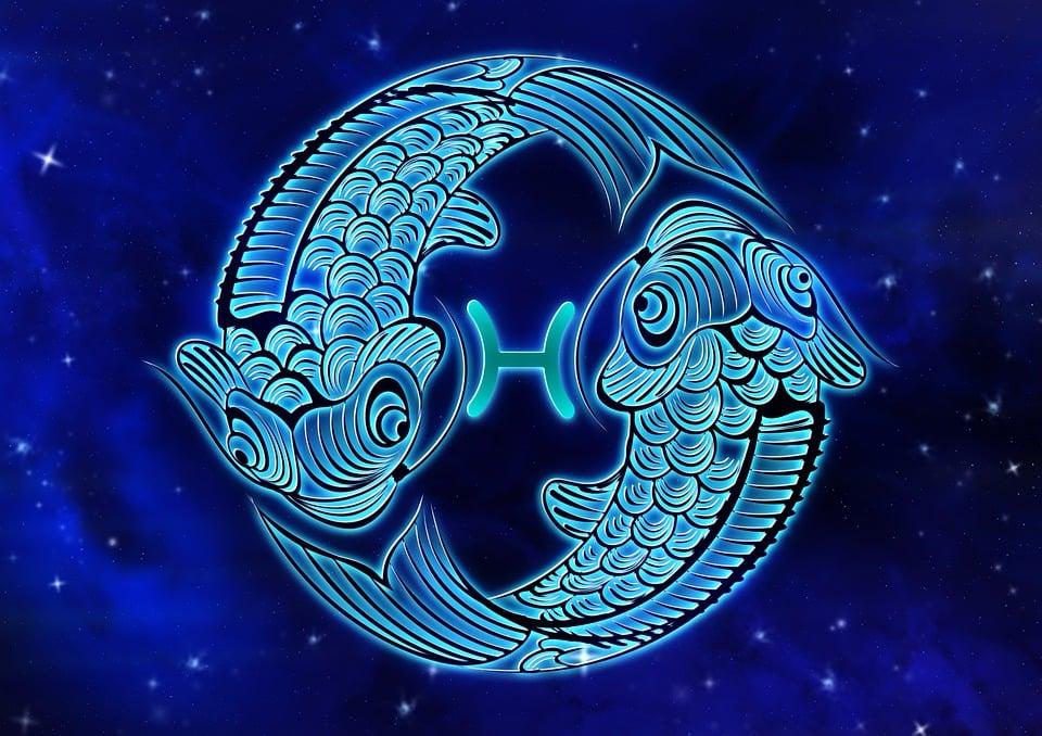Zodiac Sign, Fish, Horoscope, Design, Astrology