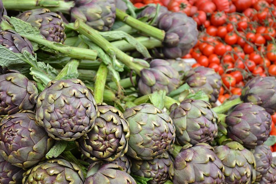 Carciofi, Verdure, Carciofo, Alimentari, Vegetariano
