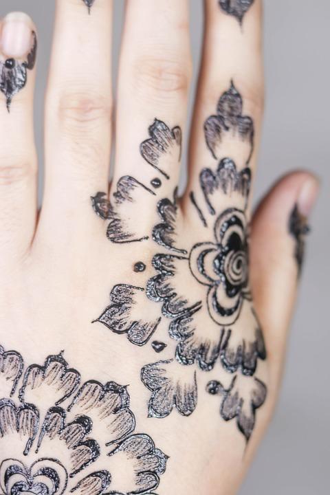 Mehndi Henna Tattoo , Free photo on Pixabay