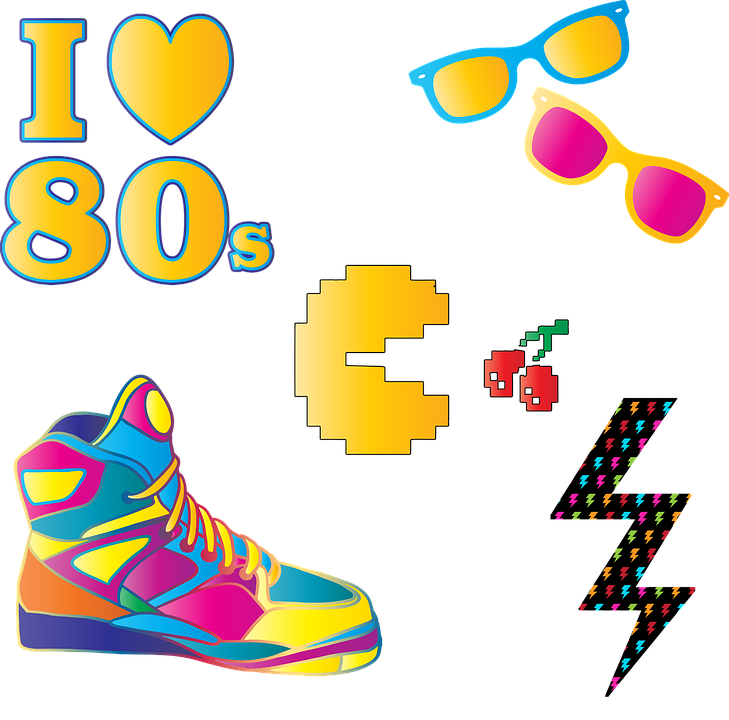 Boom Box Clipart in 2020   80s theme party, Clip art, 80s party