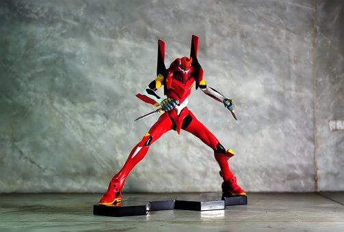 Evangelion Unit-02, Original, Version