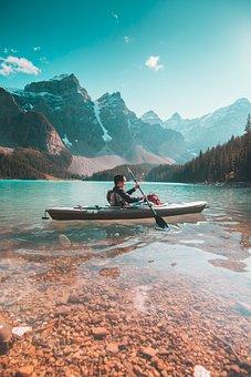 Banff, Alberta, Canada, Landscape, Water