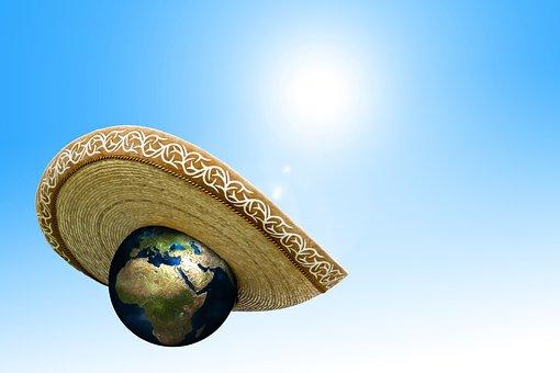 Mudança Climática, Sombrero, Chapéu