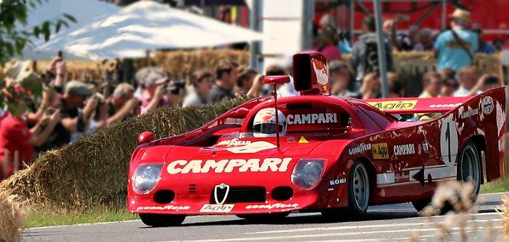 Racing Car, Alfa Romeo, Motorsport