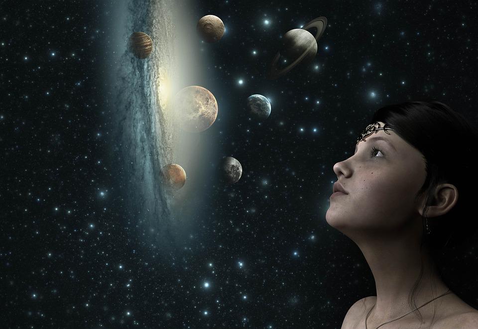 Fantazie, Prostor, Hvězda, Vesmír, Hvězdnou Oblohu