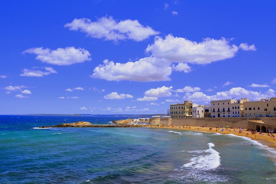 Spiaggia, Puglia, Gallipoli, Mare, Salento, Estate