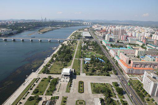 North Korea, Pyongyang, River, Daedong