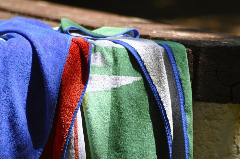 Handtuch, Strand, Picknick, Picknick Tisch, River Beach