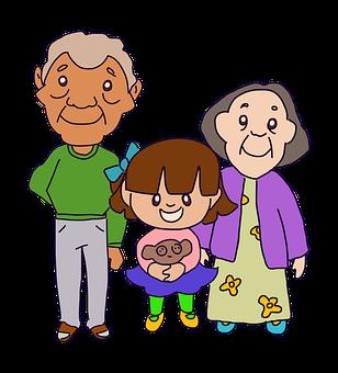 Dziadkowie, Grandparents, Rodzina
