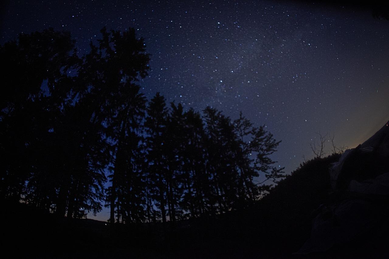 На каком режиме фотографировать ночные огни города памяти или