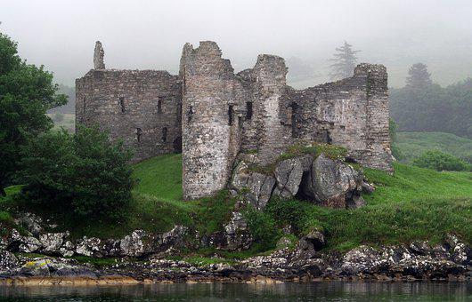 Castle, Ruin, Old, Fortress, Fort