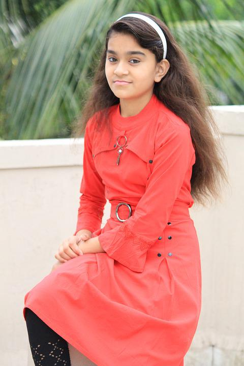 tjejer unga indiska