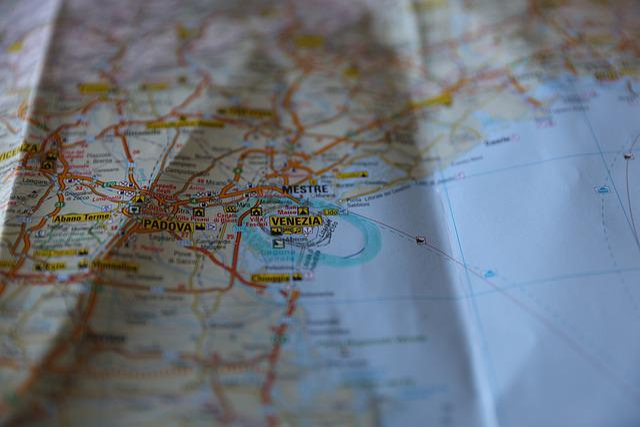 Kartta Venetsia Italia Ilmainen Valokuva Pixabayssa