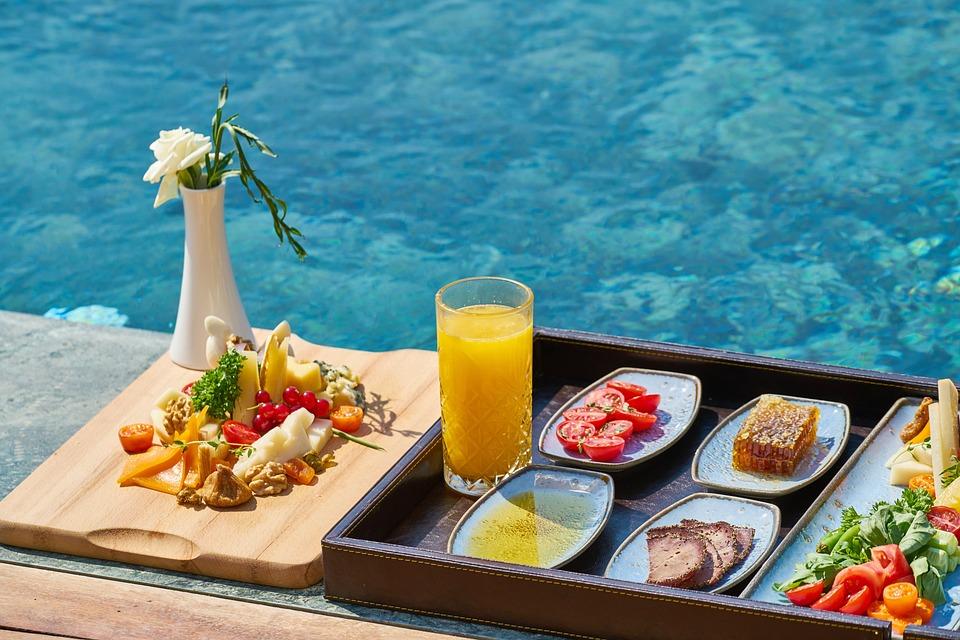 Prima Colazione, Cibo, Piscina, Hotel, Resort, Dieta