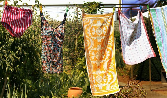 Clothes Line, Laundry, Wash, Clothing